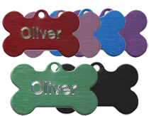 Aluminium-Bone-Pet-Tags