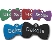 Aluminium-Bowtie-Pet-Tags