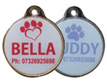 Full Colour Round Tags