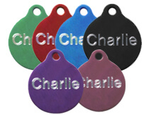 Aluminium-Round-Pet-Tags